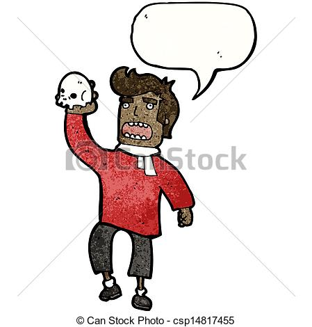cartoon shakespeare actor - c - Actor Clipart