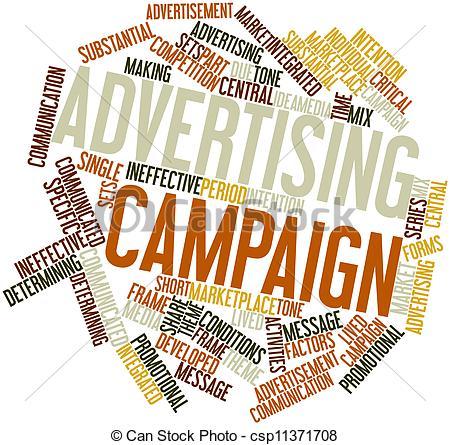 Campaign clipart: Clip Art Advertising Campaign