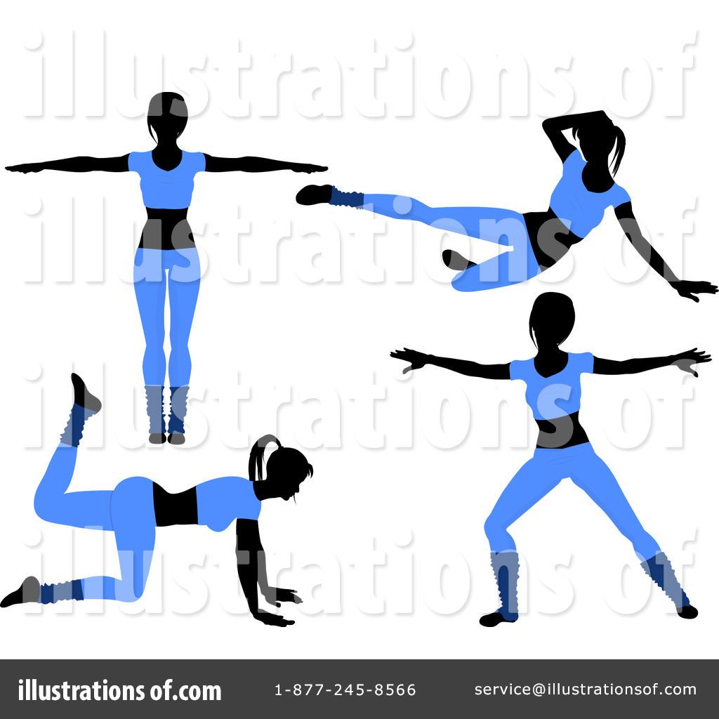 Royalty-Free (RF) Aerobics Clipart Illustration #1049419 by elaineitalia