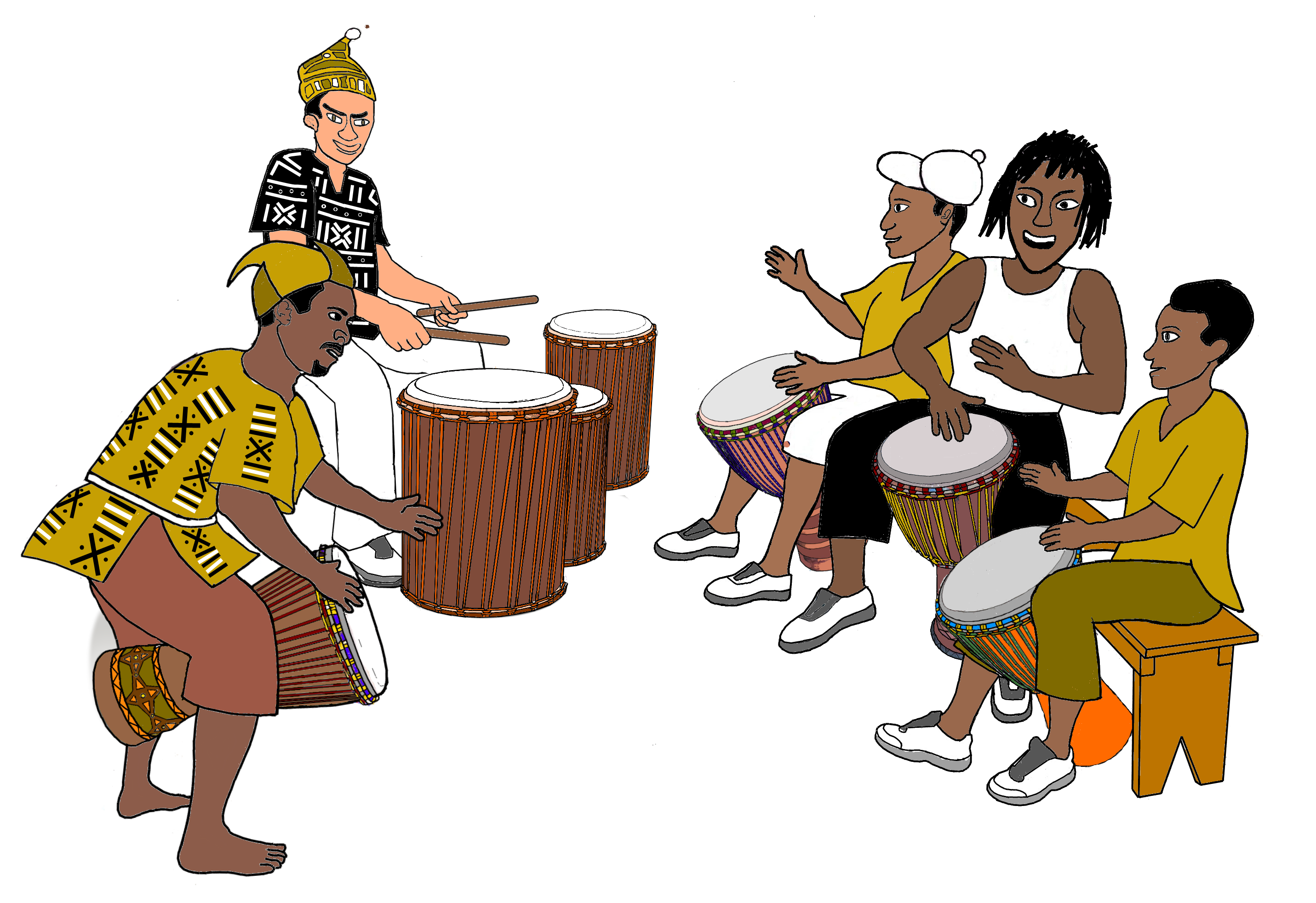Africa clipart african dancing - Free png,logo,coloring pages africa
