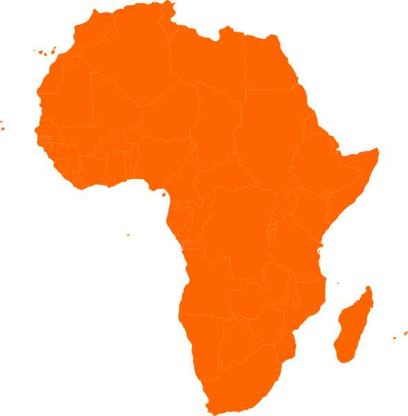 Africa Clipart this image as: - Africa Clipart