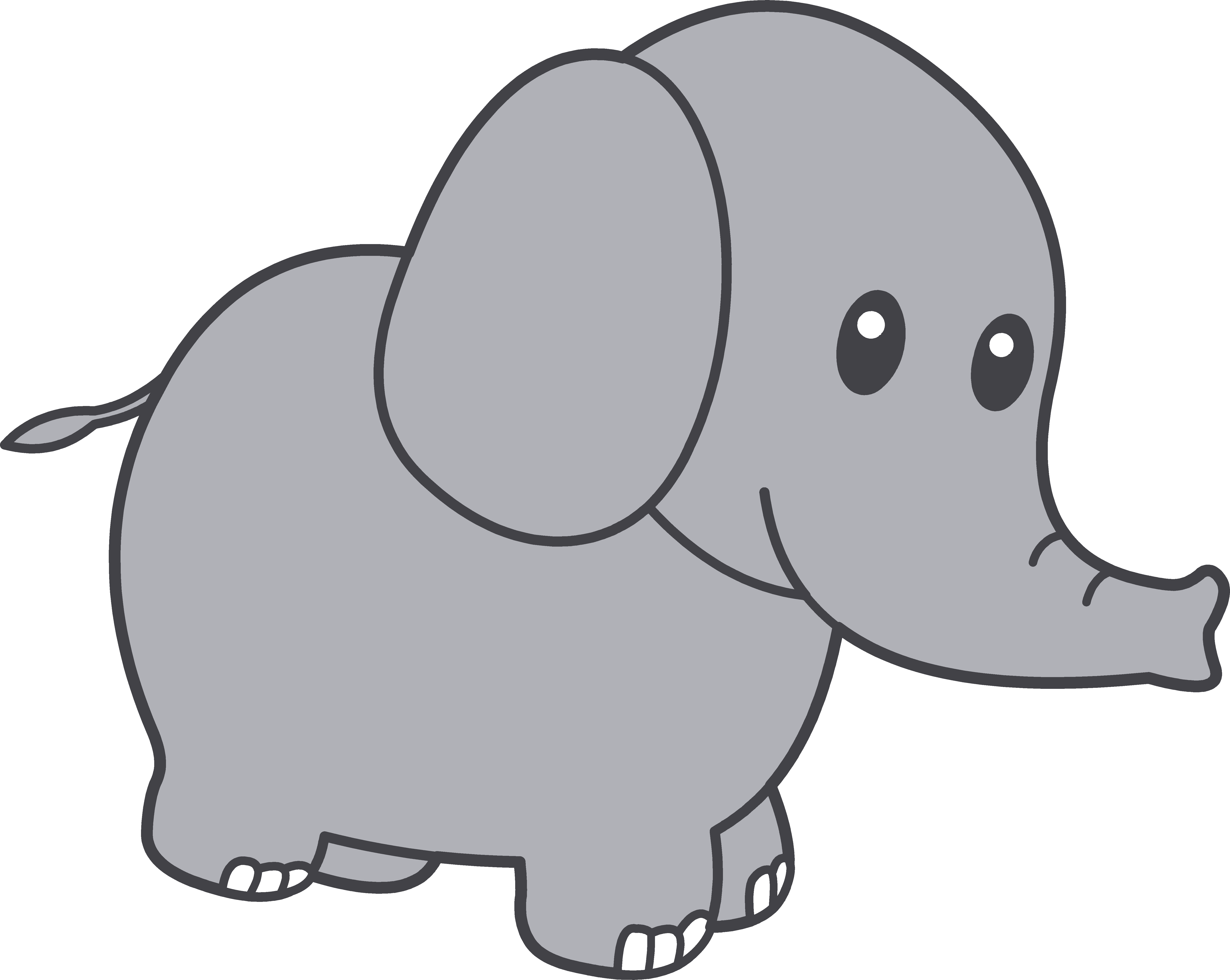 african elephant clipart