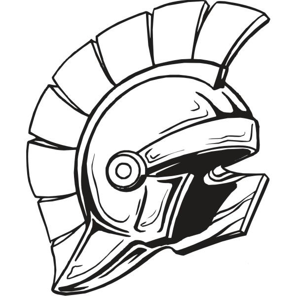 Agoge Helmet Clipart #1