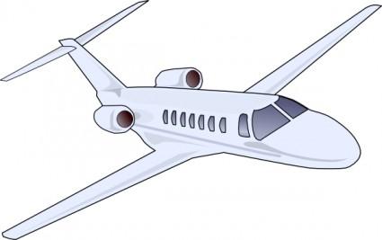Airplane aircraft clip art .