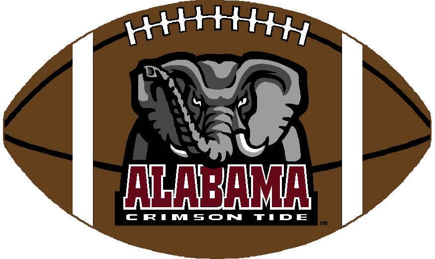 Alabama football clipart. COLLEGE LOGO: College Sports .