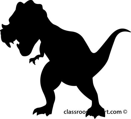 albertosaurus silhouette clipart. Size: 40 Kb