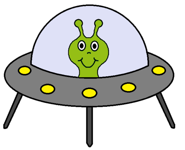... Alien And Spaceship Clipart Clipart - Free to use Clip Art Resource ...