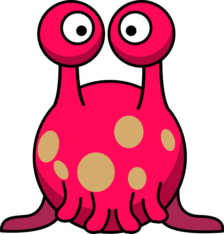 Alien Clipart Silly Monster #1