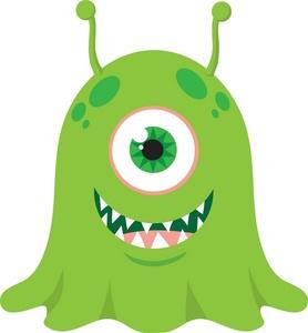 Alien Clipart Image Cute