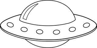 Alien spaceship clip art .