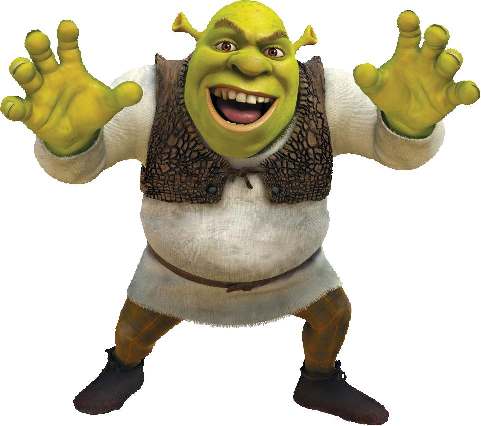 All Cliparts: Shrek Clipart
