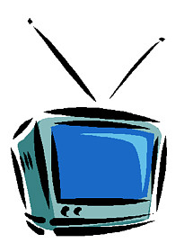 All Cliparts Television Clipart