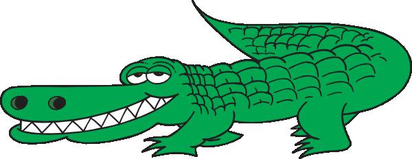 Alligator clip art free .
