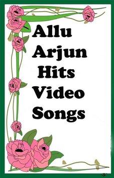 Allu Arjun Hits Video Songs poster ClipartLook.com