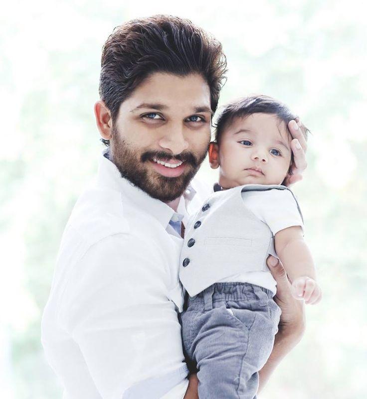 Allu Arjun Photos - Allu Arjun with his Son Ayaan