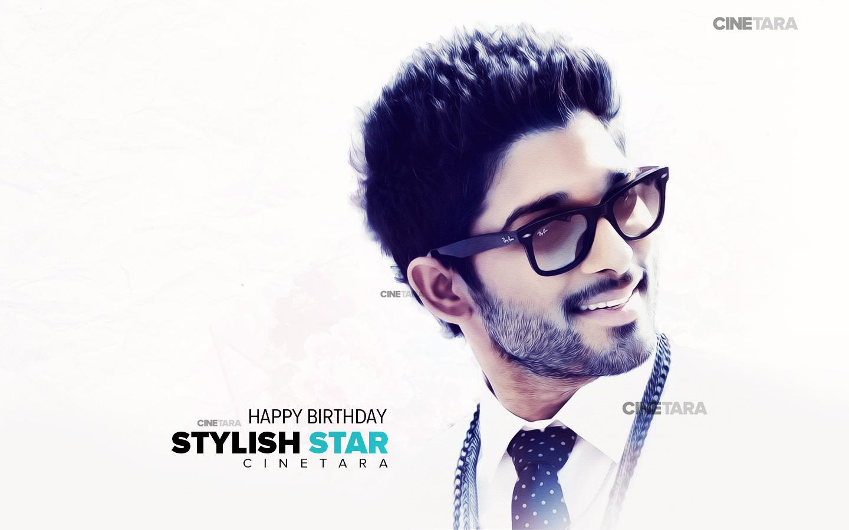 Allu Arjun Stylish Clipart