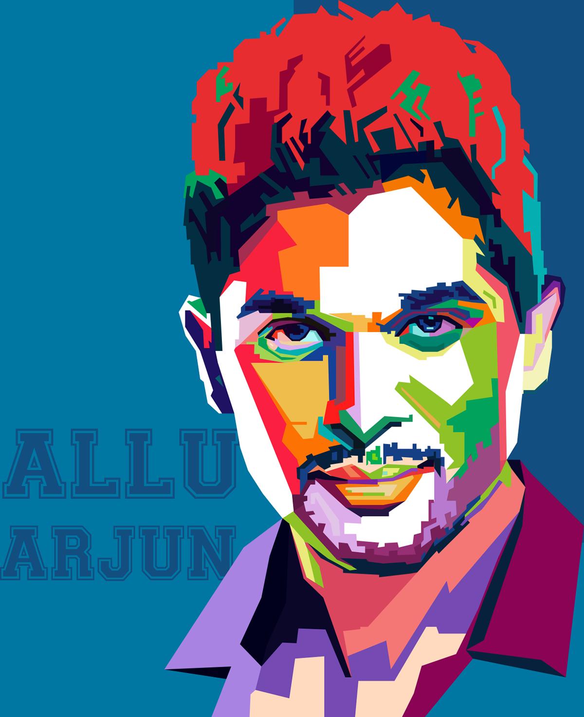 Clipart Allu Arjun