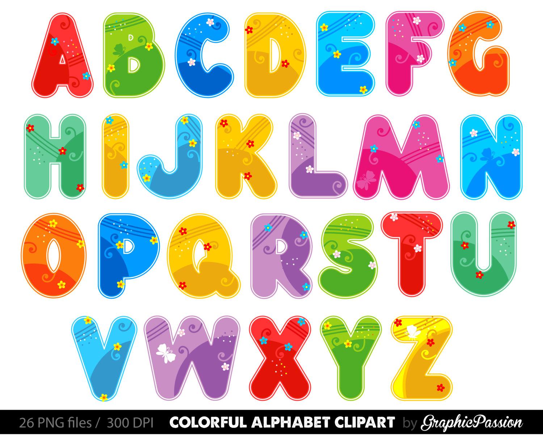 Alphabet clip art - ClipartFest