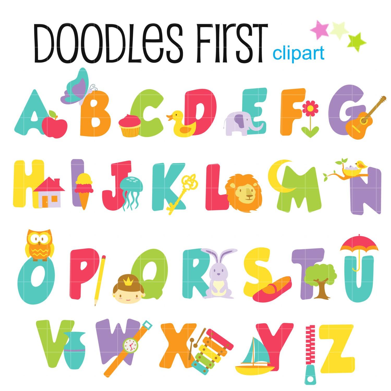 Alphabet clip art items share loveitsomuch