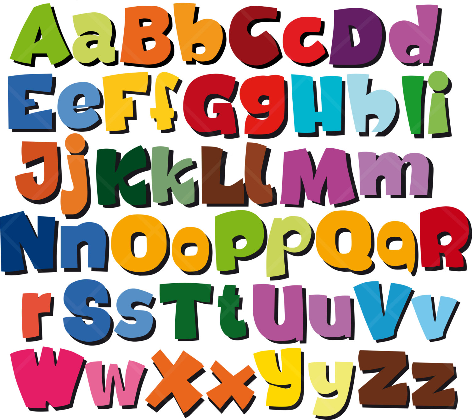 Alphabet clipart for kids free clipart image 3 image