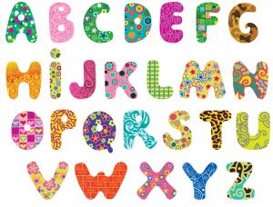 Alphabet for teachers clipart kid