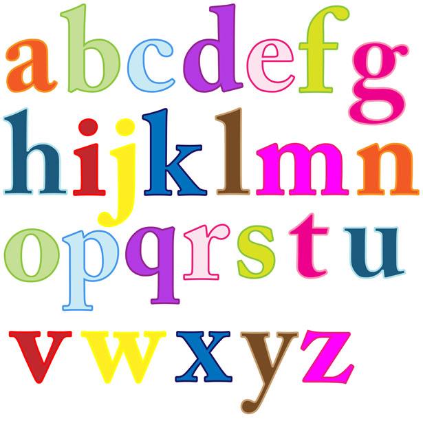 Alphabet Letters Clip Art Free Stock Photo Public Domain Pictures