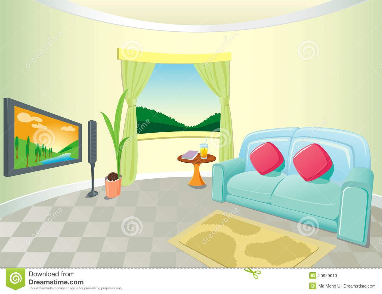 Amazing Modern Living Room Art #2 - Living Room Clip Art