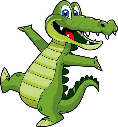 Amazon clipartall.com: Cartoon Alligator Clip Art - Cute Alligator Mascot Stock Illustration!