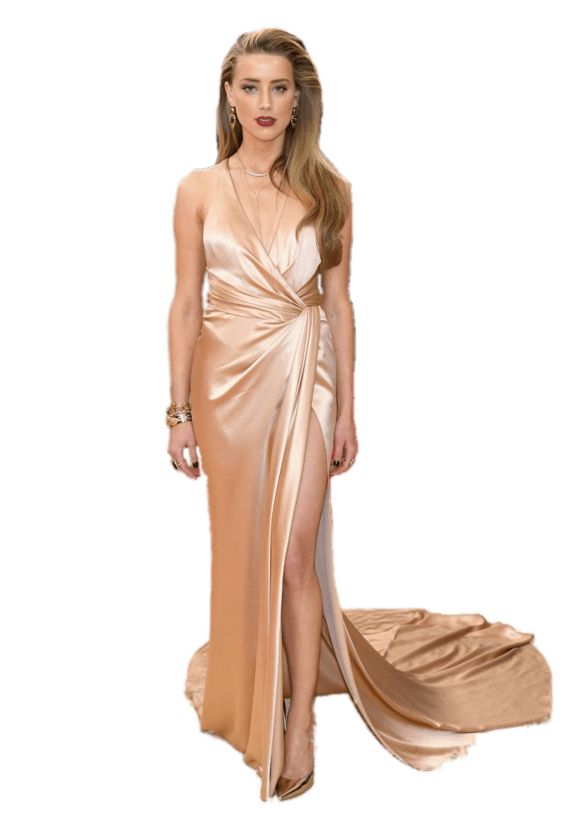 Amber Heard Glamour Transparent PNG Sticker. Transparent PNG Sticker.