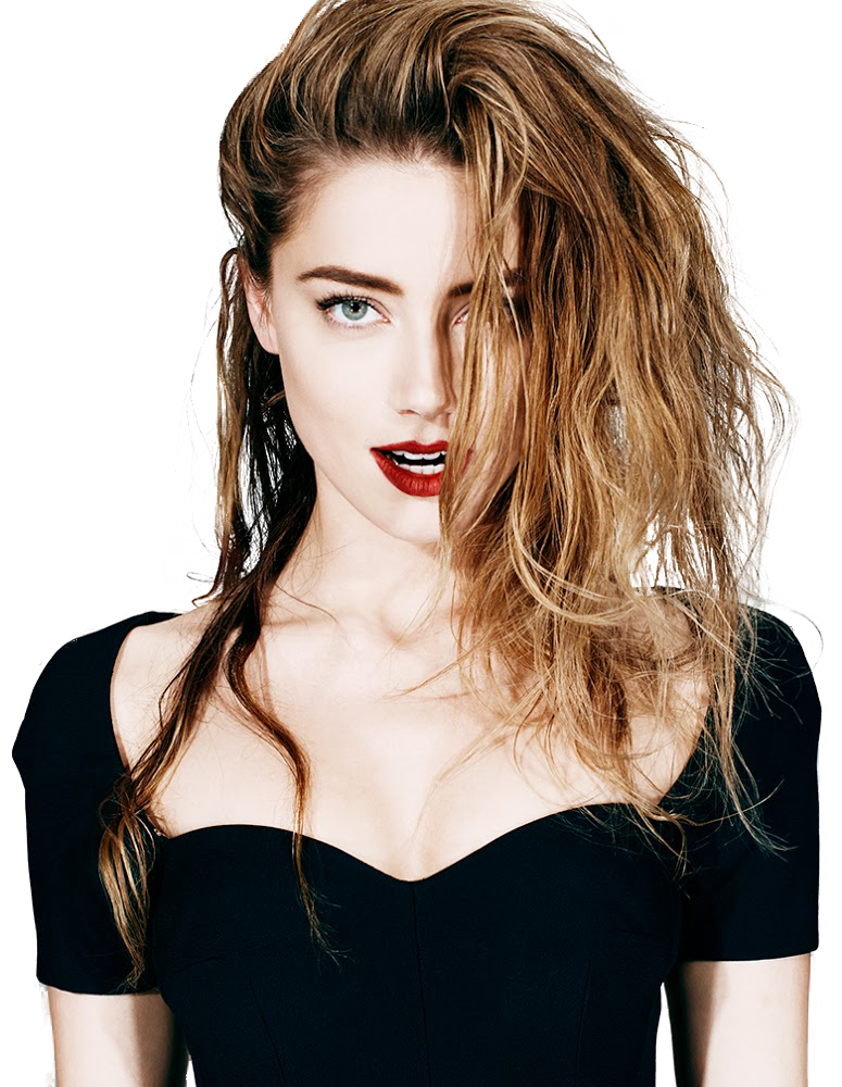 Amber Heard PNG Transparent Image