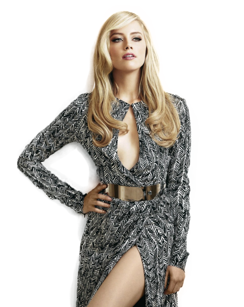 Amber Heard Transparent PNG