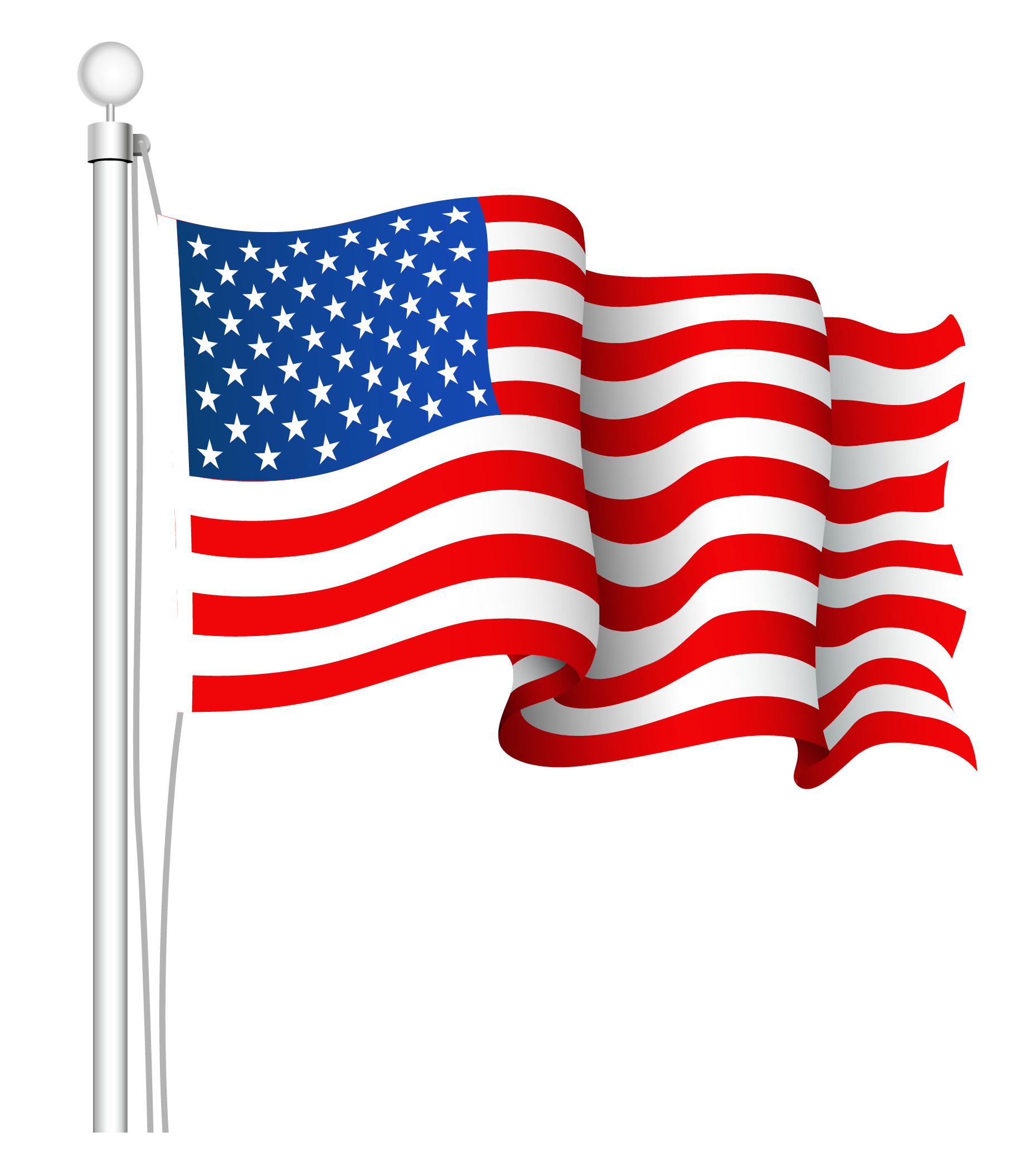 American Flag Clip Art #5377