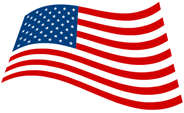 Country clipart american flag #6