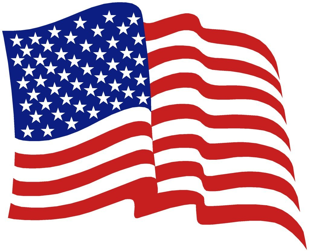Free american flag clipart hdclipartall