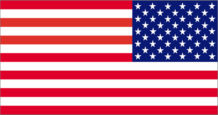 Us flag vertical american flag clipart kid