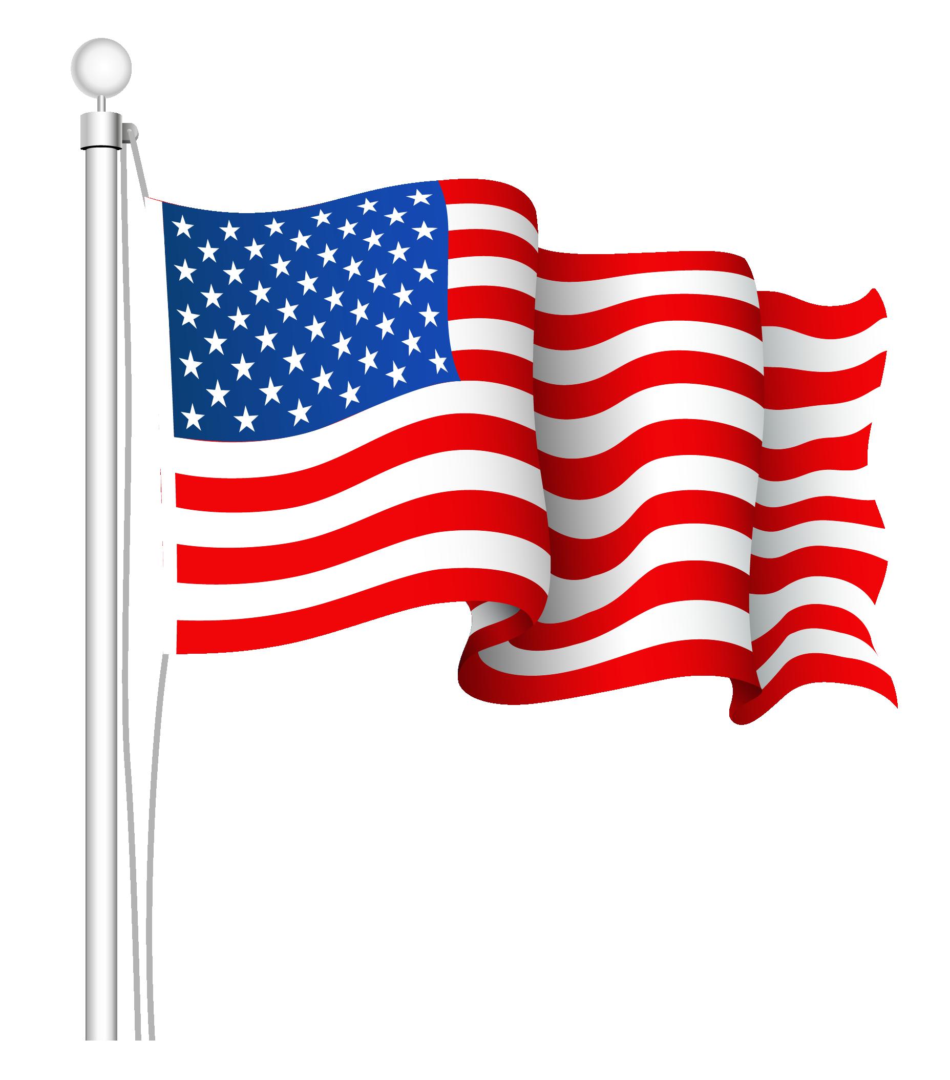 American flag united states .