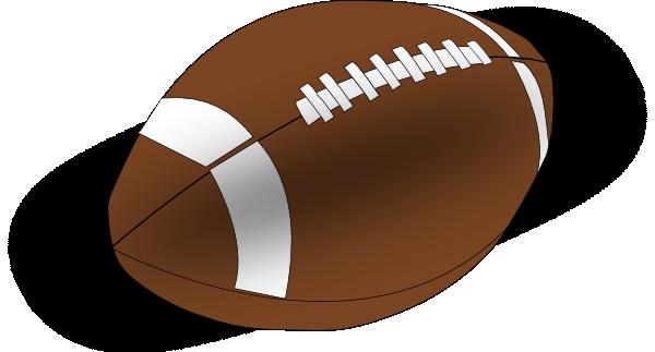 American football clip art at - Football Clipart