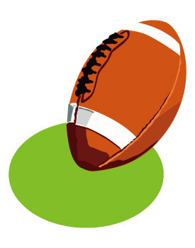 American Football Clipart Free .