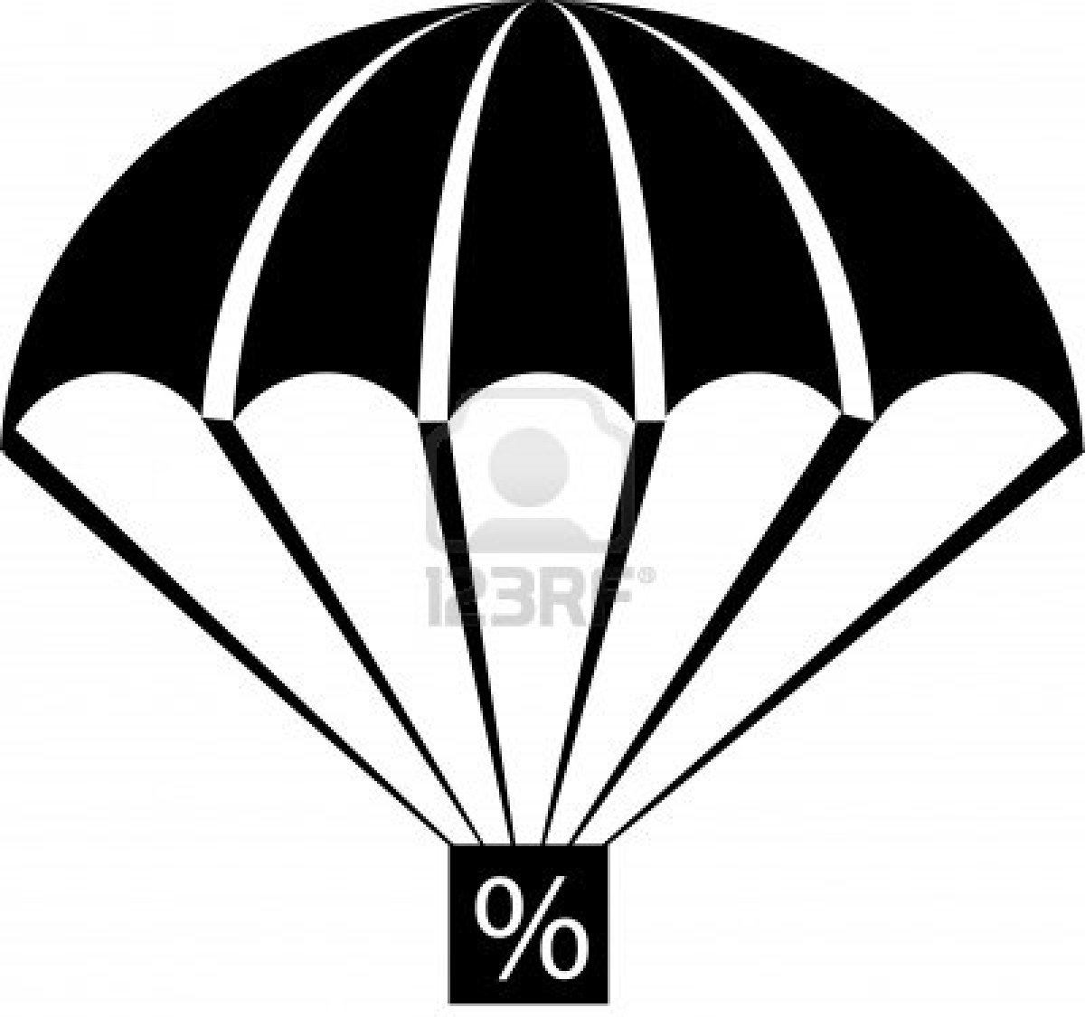 An Illustration With Parachute .
