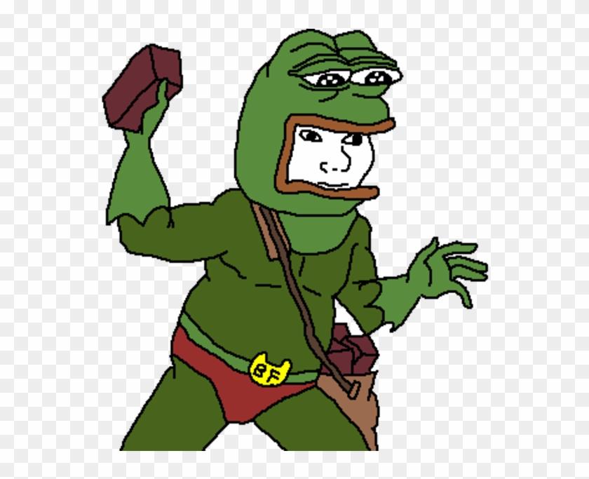 Anaconda Clipart Sad - Pepe Superhero #490009