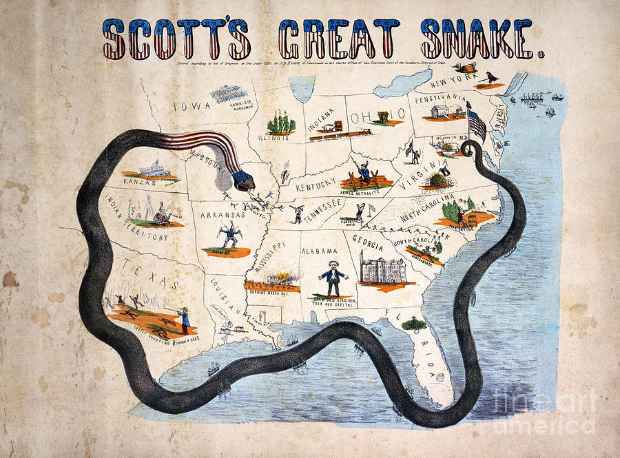 The Anaconda Plan aka Scotts Great Snake