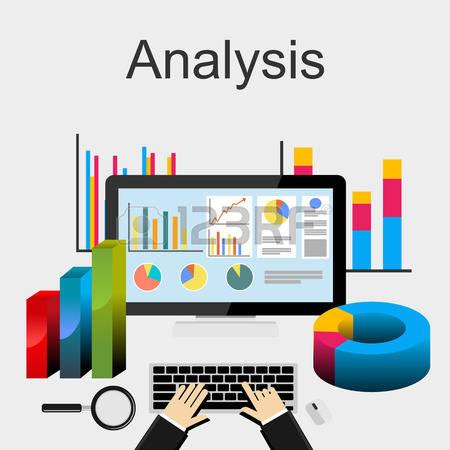 Analysis Clipart data gathering