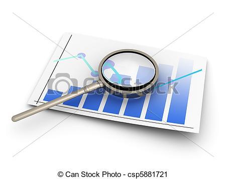 Financial analysis - csp5881721