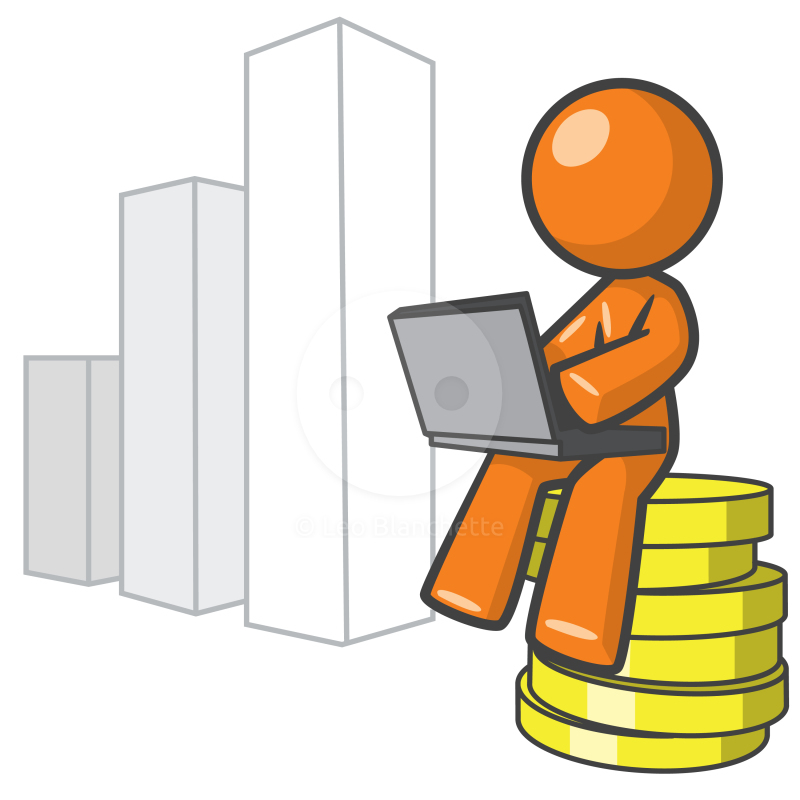 stock clipart. analyst clipart