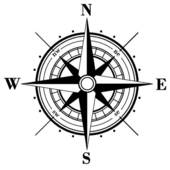 ancient compass rose ...