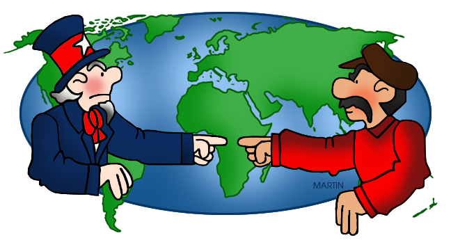 Ancient World History Clipart ... Cold War