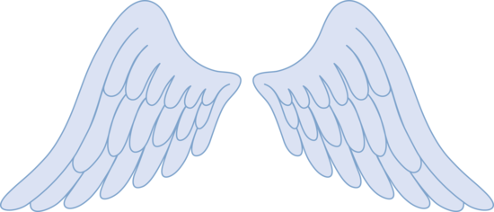 Angel wing clip art free vector of angel wings tattoo free image 2