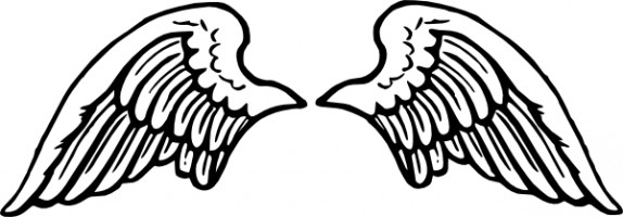 Angel wings free angel wing clip art free vector for free download 2 - Clipartix