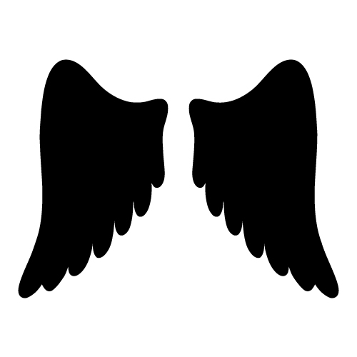 Angel wings free angel wing clip art free vector for free download 4