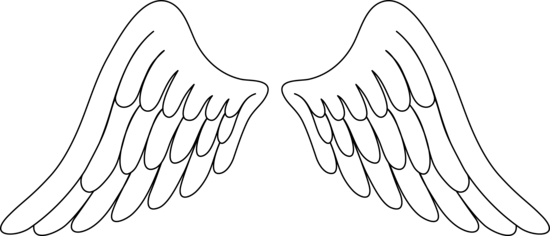 Angel wings free angel wing clip art free vector for free download